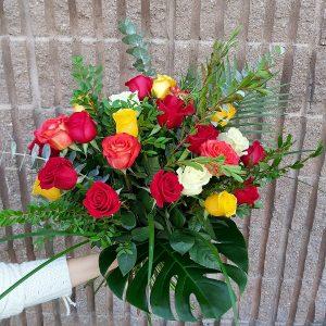 Bouquet 24 Roses Couleur